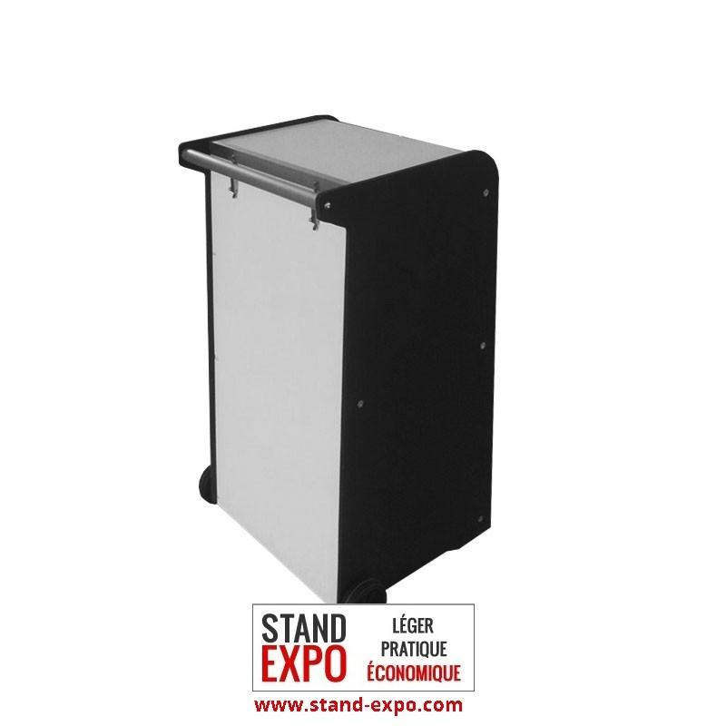 Comptoir valise leonardo stand expo for Stand comptoir