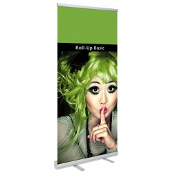 Cheap advertising roll-up