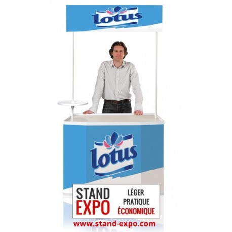Comptoir de stand large