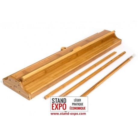 Roll-up discount en bambou