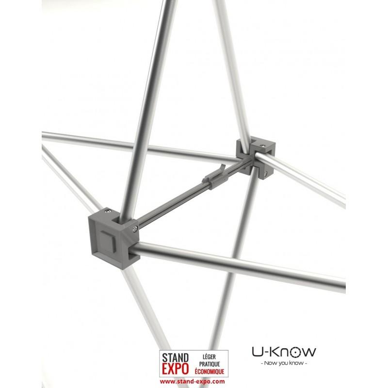 Stand parapluie droit avec toile velcro stand expo for Stand parapluie prix