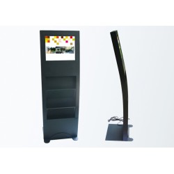"Display stand with 19 ""screen"